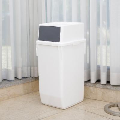 完美主義 韓國製60L前開式回收桶/垃圾桶/分類桶/資源回收(2色)