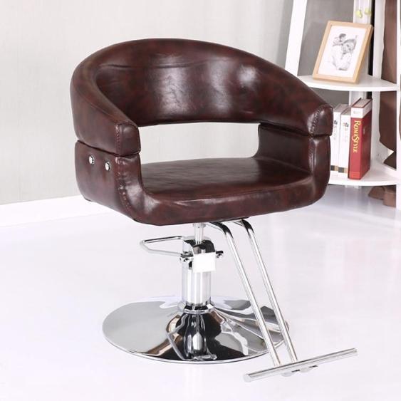 理髮椅 美容美髮椅精品美髮店椅子升降旋轉理髮椅時尚髮廊專用美髮椅
