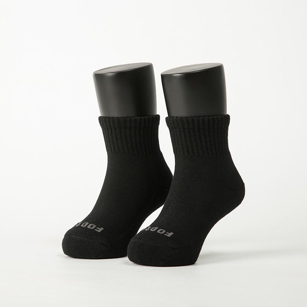 Footer單色運動氣墊襪(童襪ZH186) 除臭襪 運動襪 健康襪