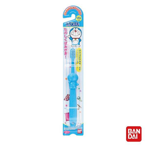 【台灣總代理】日本製 BANDAI 哆啦A夢牙刷1入(藍)