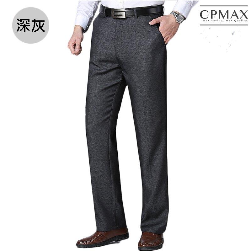 CPMAX 免燙抗皺薄款西裝褲 直筒西裝褲 正式西裝褲 夏季薄款舒適 高腰西裝褲 休閒西裝褲 免燙西裝褲 E10