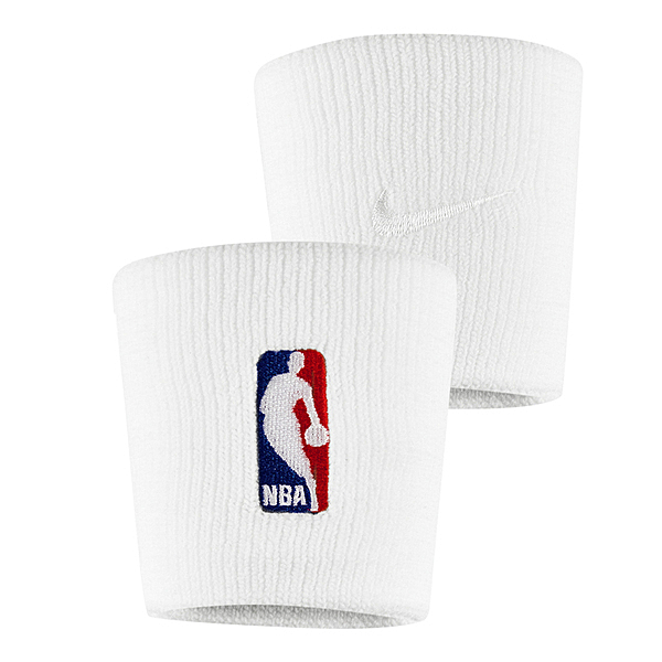 Nike NBA DRI-FIT [NKN03100OS] 護腕 腕帶 運動 打球 健身 吸濕 排汗 乾爽 彈性 白