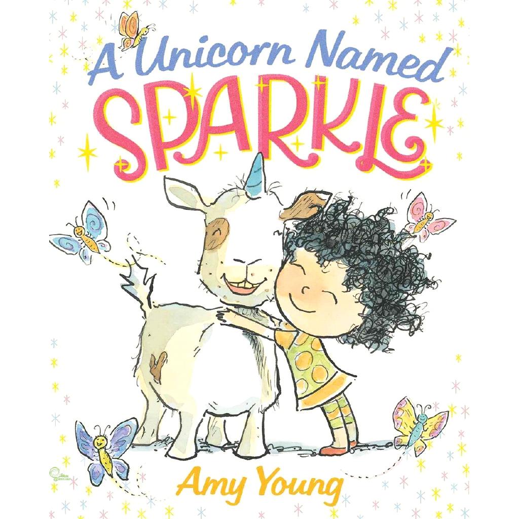 A Unicorn Named Sparkle【禮筑外文書店】(精裝)[79折]