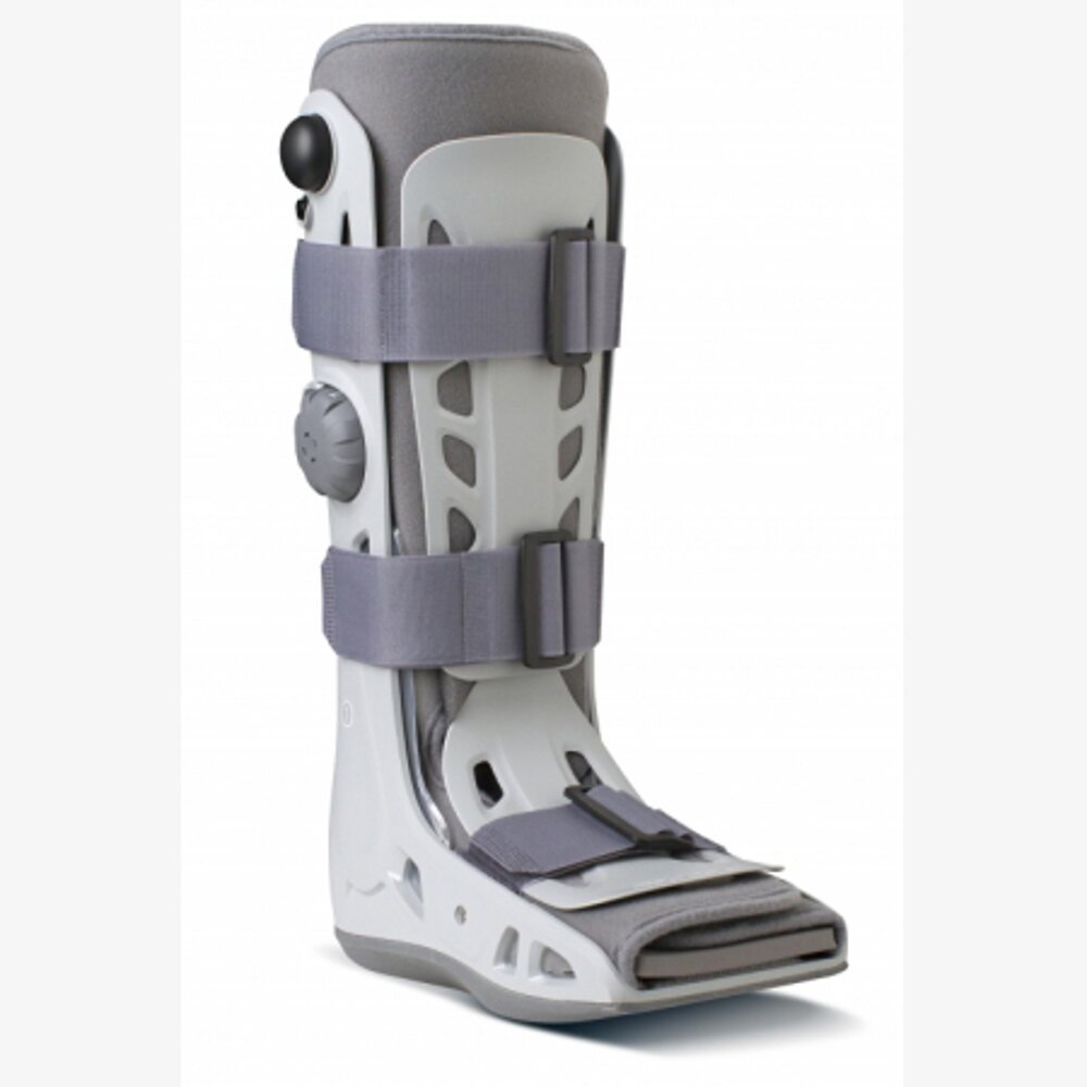 頂級氣動式足踝護具(長)【AIRCAST】護足 護具 下肢 骨科 足踝 復健用品