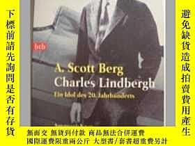 二手書博民逛書店原版德語小說Charles罕見LindberghY14063 C