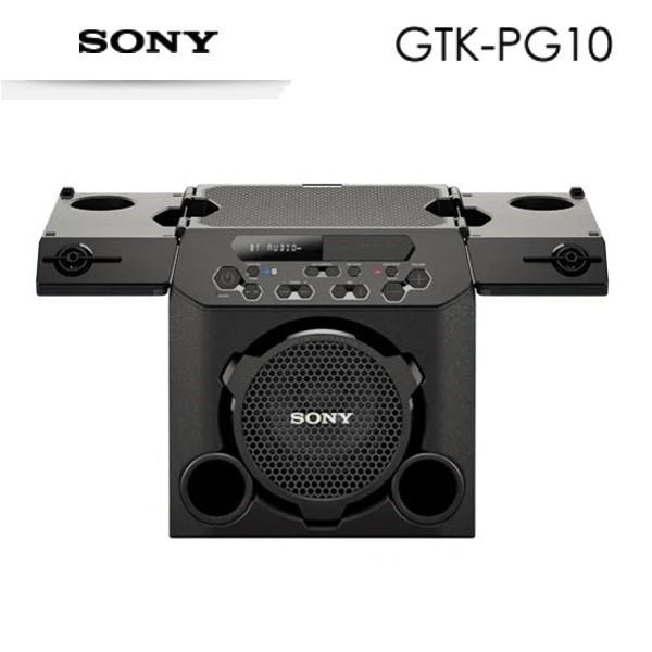 SONY GTK-PG10 可攜式 室內戶外派對 無線 藍牙喇叭 台灣公司貨