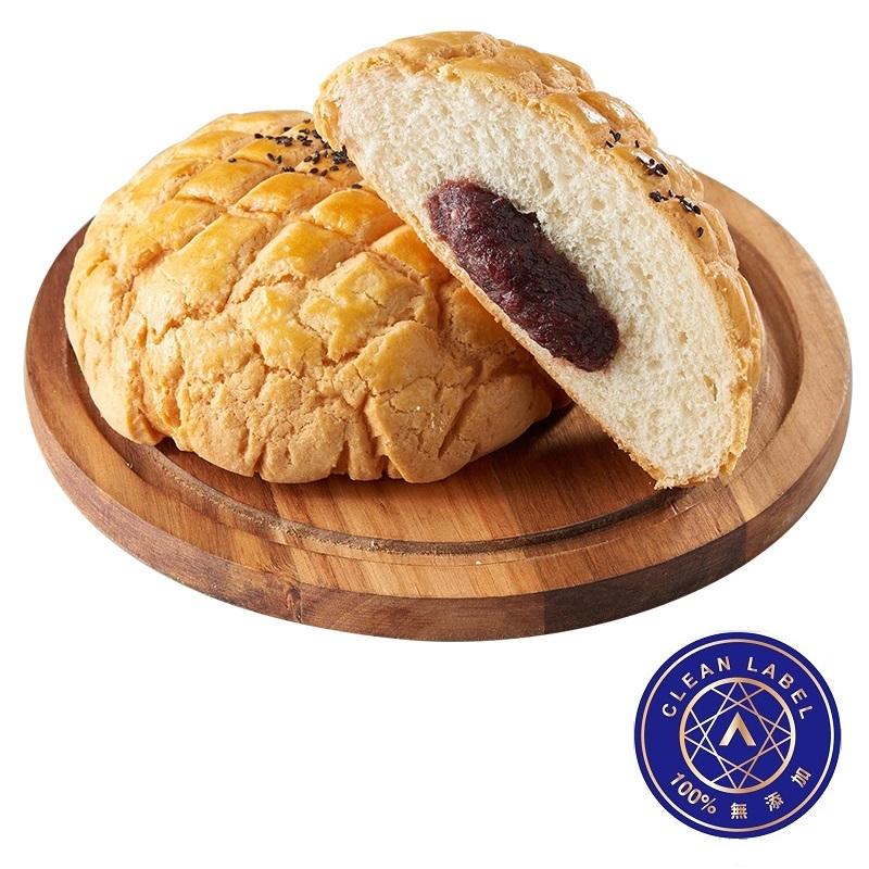 紅豆大波蘿麵包(AA無添加驗證:100%無添加)