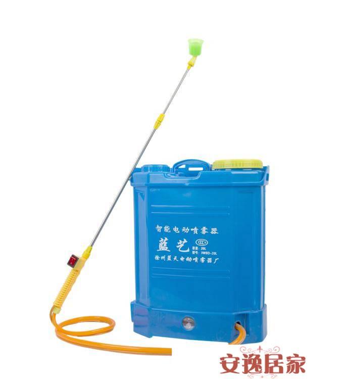 電動噴霧器農用消毒背負式全自動打藥機新農藥噴灑高壓鋰電池噴壺