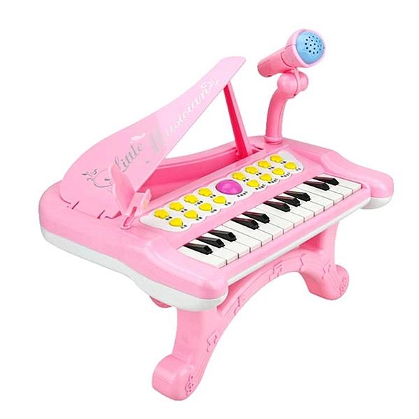 電子鋼琴1-3歲兒童初學者女孩多功能電子琴玩具益智寶寶男孩初學 西城故事