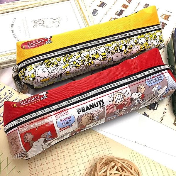 【卡漫城】 Snoopy 雙面 筆袋 二款選一 ㊣版 拉鍊 史努比 史奴比 糊塗塔克 萬用包 鉛筆盒 收納袋
