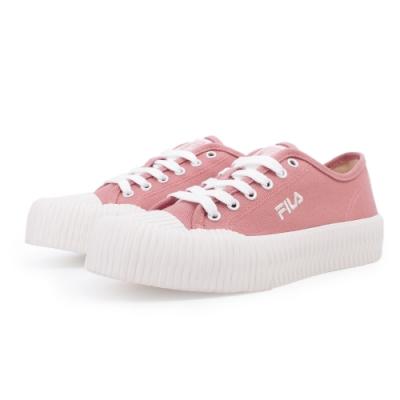【FILA】BISCUITC 帆布鞋 餅乾鞋 女鞋-粉(5-C330U-551)