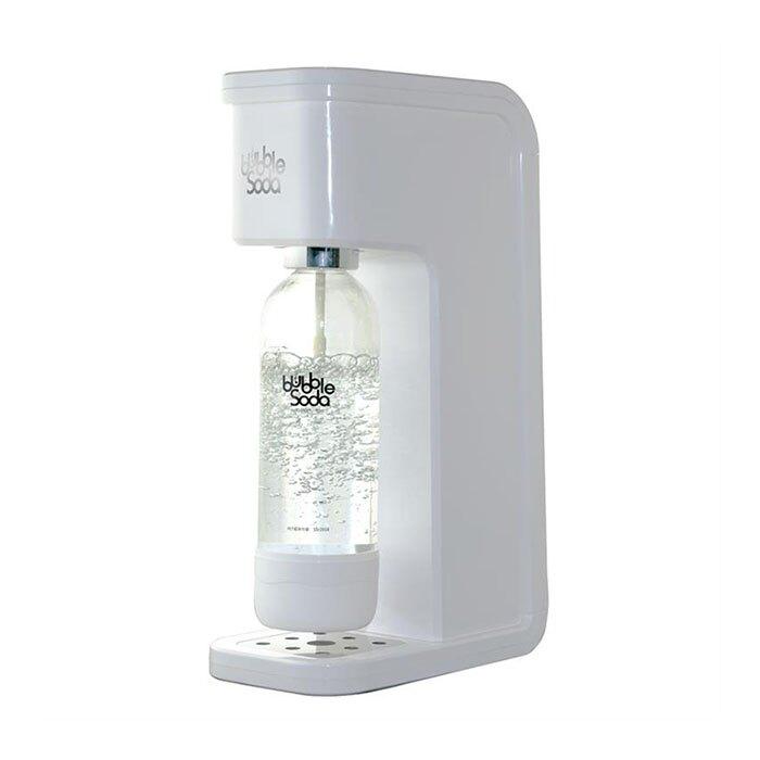 ★組合價再加贈★《法國Bubble Soda》免插電全自動氣泡水機(白色) BS-909