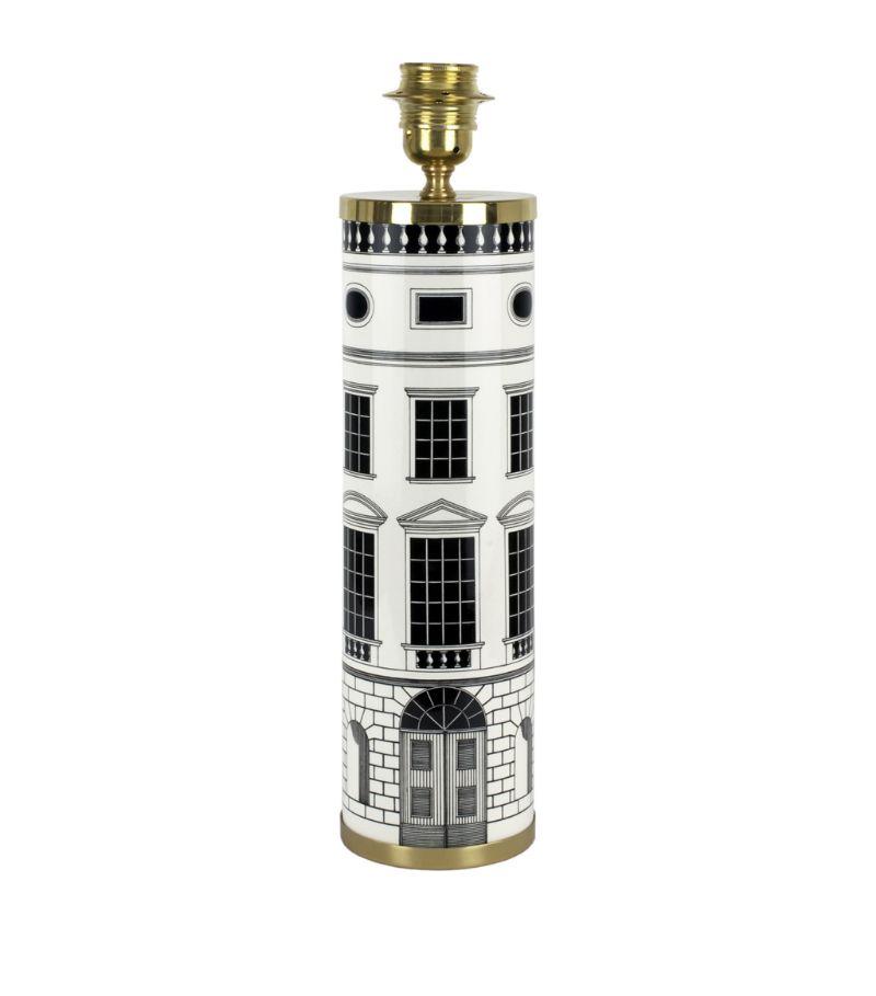 Fornasetti Architettura Cylindrical Lamp Base