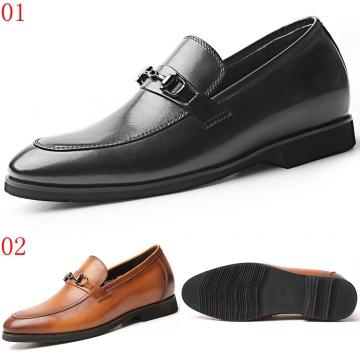 (杰恆)口2020春淺口超輕樂福鞋兩色可選0620841ZAP黑/841-9黃棕增高6.5CM