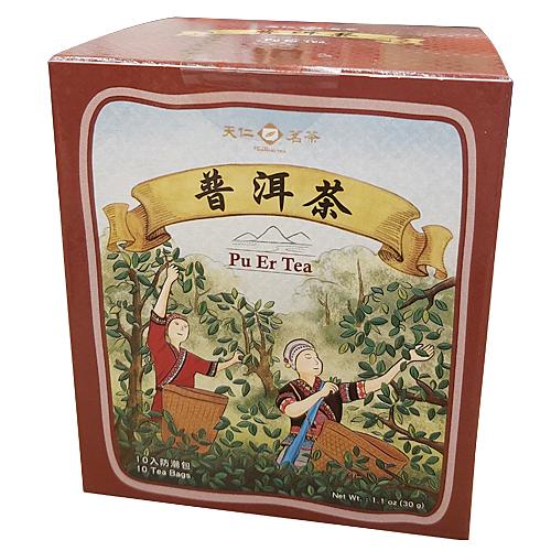 【奇奇文具】天仁 普洱茶原片茶包(10入)