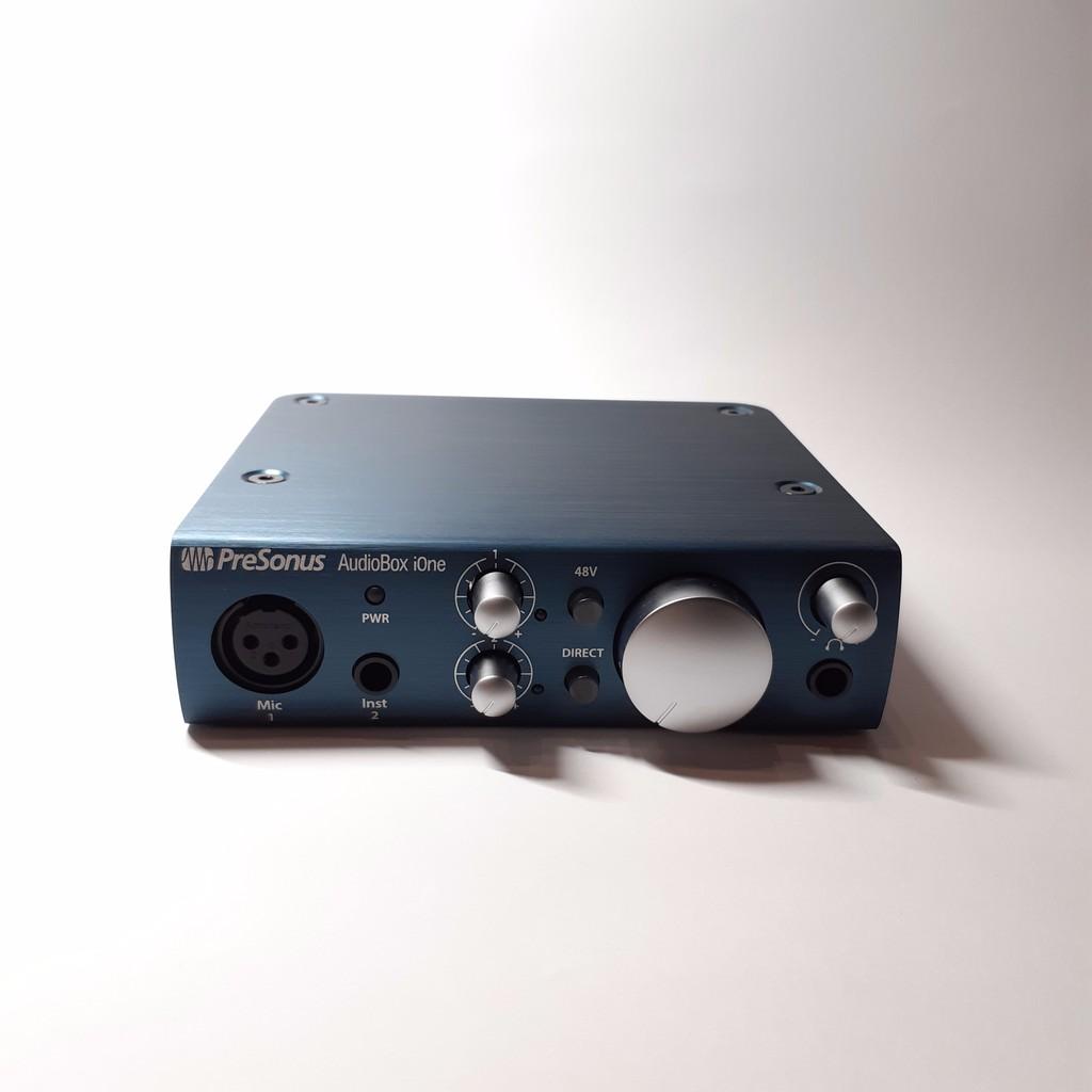 PreSonus AudioBox iOne 錄音介面《公司貨保固》