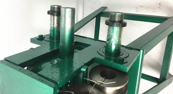 彎管機 多功能手搖不銹鋼彎管機 手動彎管器大棚車棚圓管方管35 40 50型 家 夏洛特居家名品