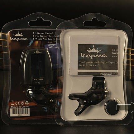 校音器 卡馬吉他調音器民謠貝斯尤克裏裏古典電吉它通用校音器調音表『MY4522』