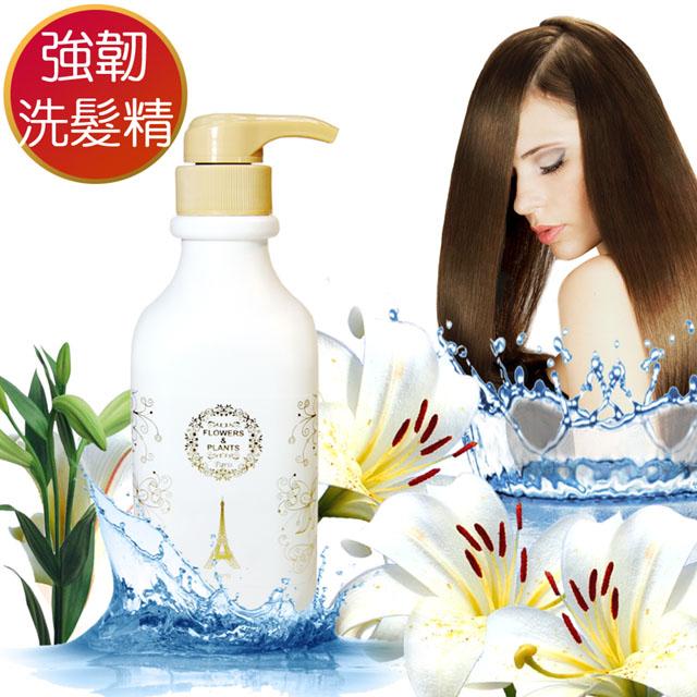 【愛戀花草】強韌髮質-香橙花草本洗髮精 1000MLx3