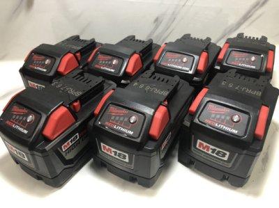 福利品 米沃奇原廠m18v 9.0 鋰電池