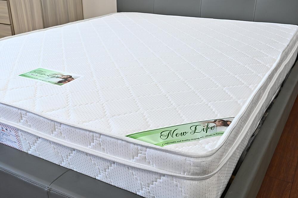新生活家具昆娜 蜂巢式 彈立筒 3.5尺 單人床墊 軟硬適中 台灣製造