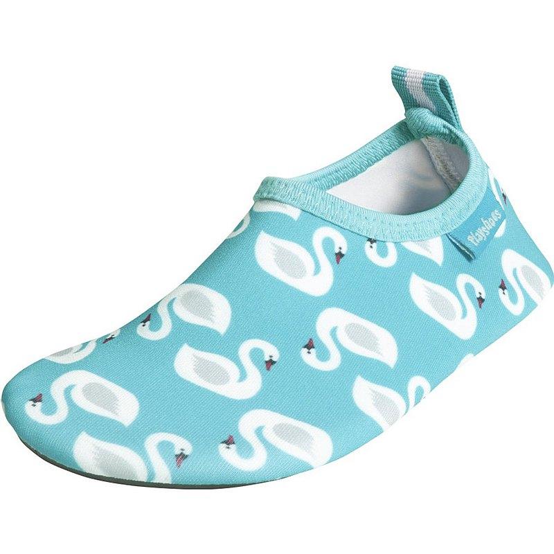 德國PlayShoes 抗UV水陸兩用沙灘懶人童鞋-天鵝