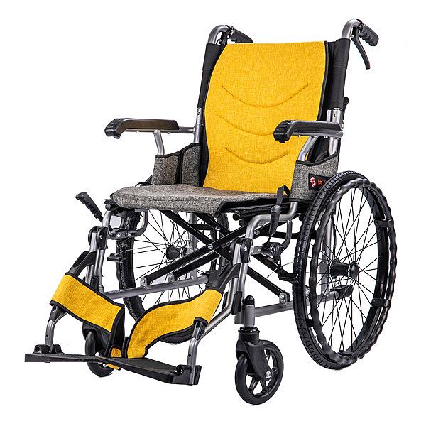 輪椅 鋁合金掀腳輪椅 均佳 JW-X40 輕巧型
