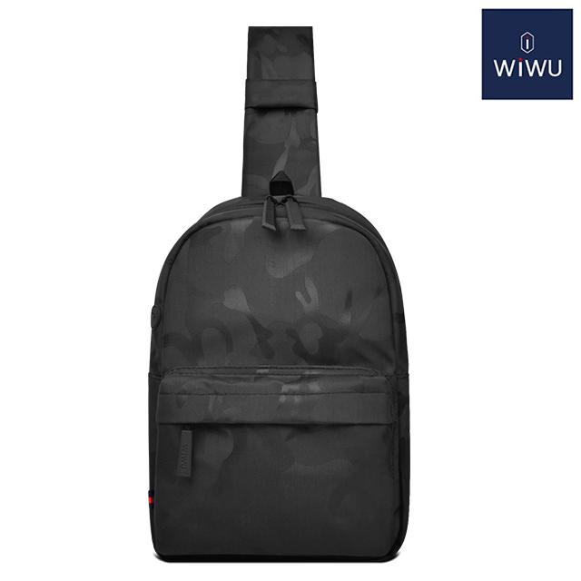 WiWU 威戈胸包-迷彩黑