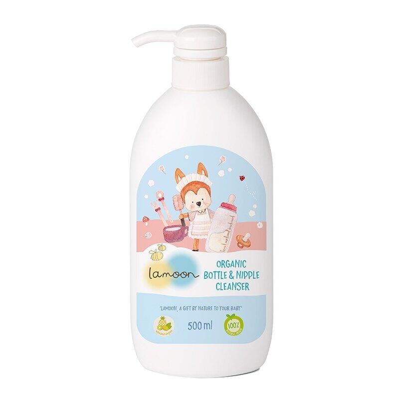 【Lamoon baby】有機奶蔬清潔液/500ml