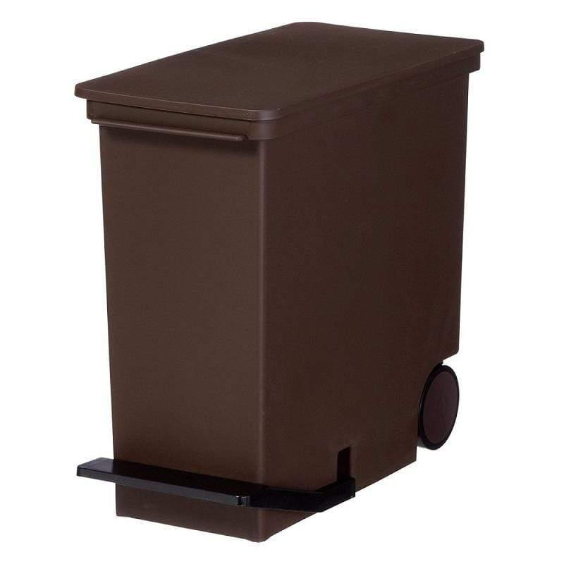 直立式分類垃圾桶25L - 二色 紅色