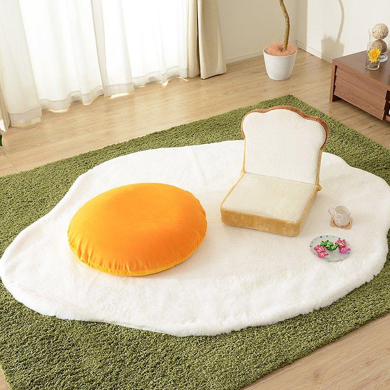 【日本和樂の音色】荷包蛋地毯