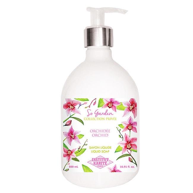 Institut Karite Paris 巴黎乳油木蘭花花園香氛液體皂 500ml