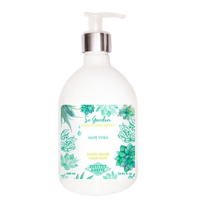 Institut Karite Paris 巴黎乳油木蘆薈花園香氛液體皂 500ml