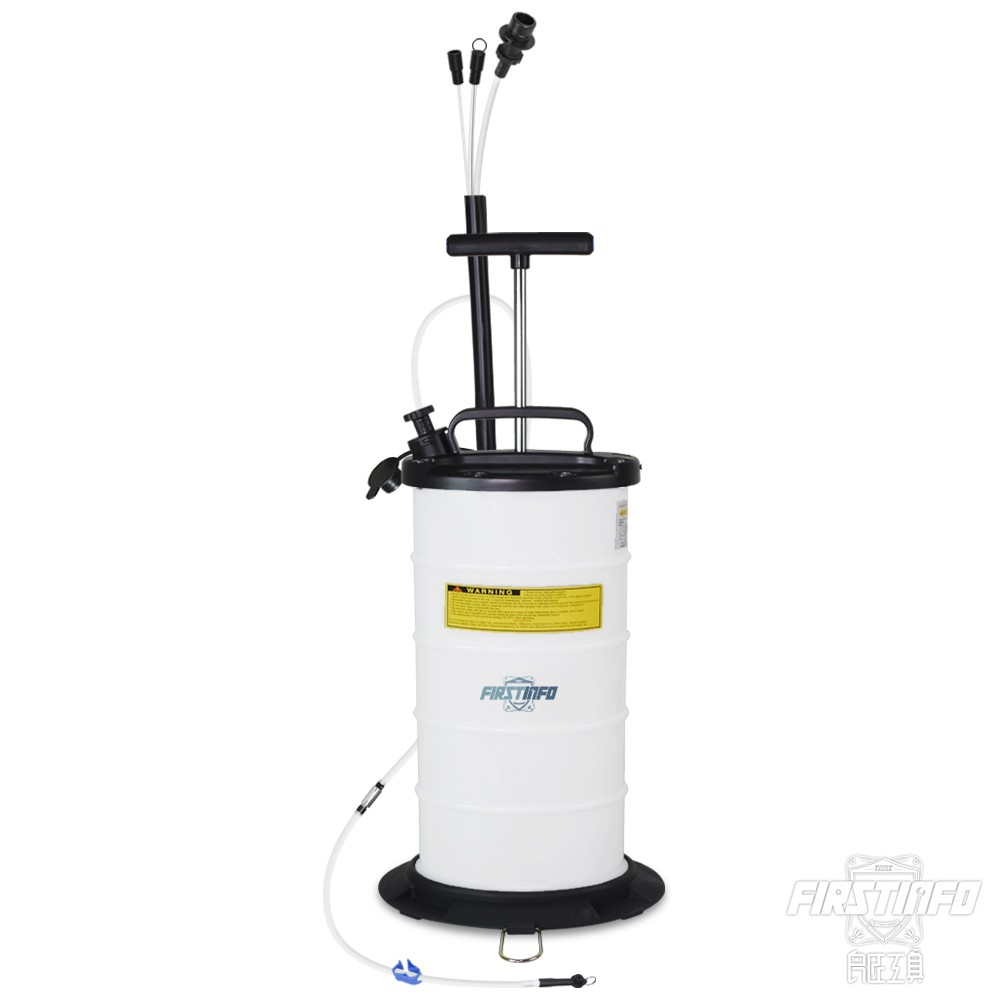 【良匠工具】最新型 真空10L 手動抽油機 吸油機 附收納管 管口附防塵蓋 原廠有保固