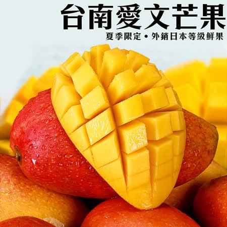 ★表皮如水蜜桃紅的愛文芒果 ★嚴格疏果,粒粒精心栽培