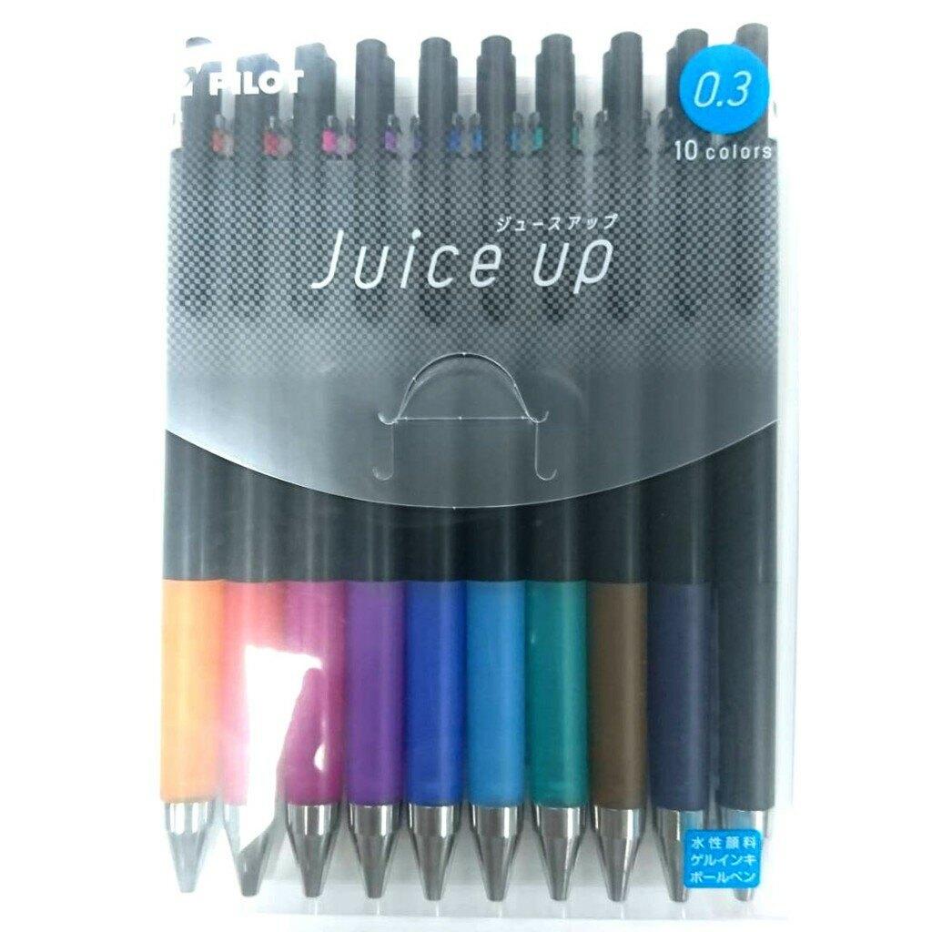【角落文房】PILOT 百樂 Juice up 0.3超級果汁筆10色組