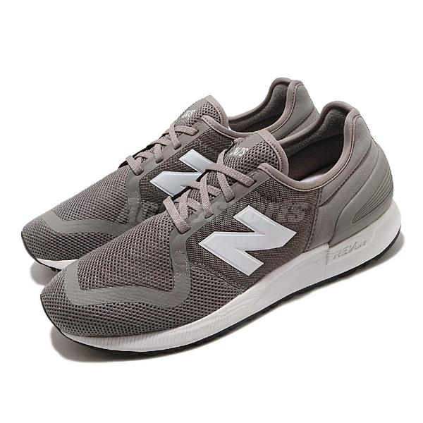 New Balance 休閒鞋 NB 247 v3 灰 白 男鞋 女鞋 復古慢跑鞋 運動鞋 【ACS】 MS247SA3D