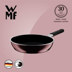【WMF】Fusiontec 深煎鍋 24cm(金屬玫瑰 赭紅色)