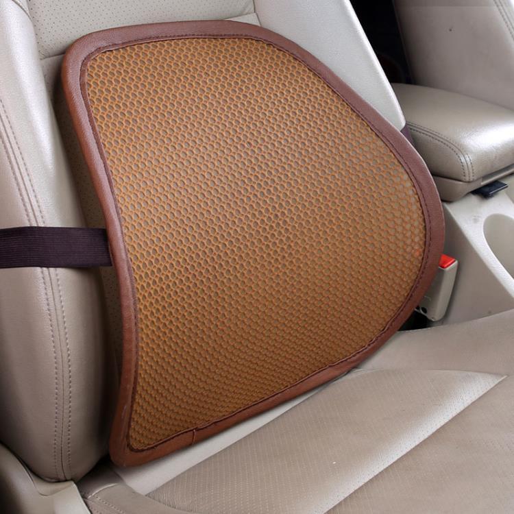 汽車載腰靠墊腰墊夏季主駕駛開車腰疼護腰神器轎車靠背透氣網座椅