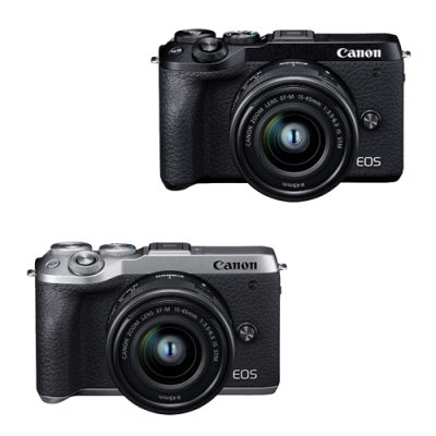 Canon EOS M6 Mark II 15-45mm STM (.公司貨)