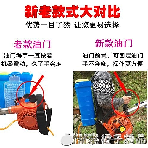 風送式汽油噴霧器手提彌霧機農用小型果樹果園大棚高壓電動打藥機 (橙子精品)