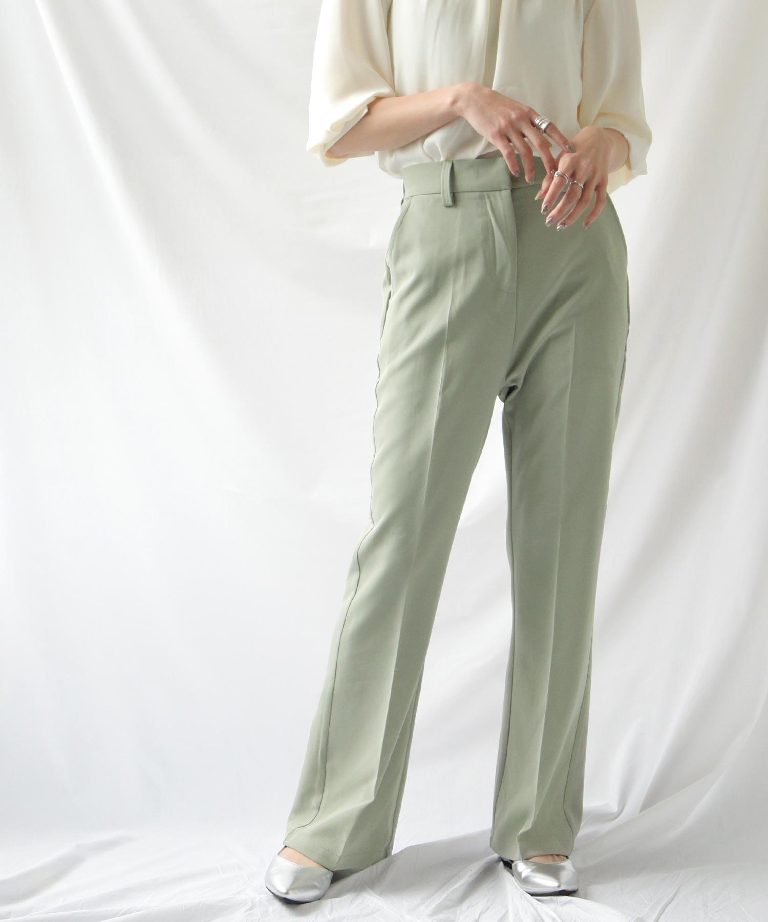 【Chillfar】中折線喇叭西裝褲