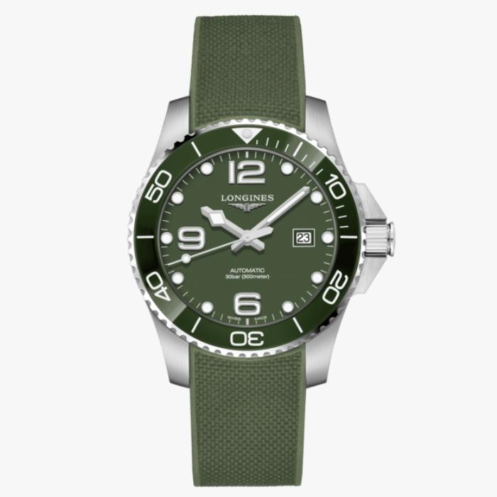 LONGINES 浪琴 L37824069 康卡斯潛水系列陶瓷框機械腕錶 43mm