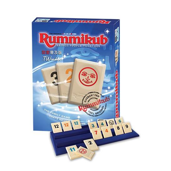 拉密標準普及版 Rummikub TWinkle 繁體中文版 送沙漏 台北陽光桌遊商城