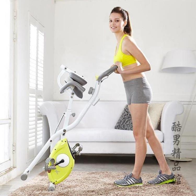 雷克XBIKE動感單車超靜音磁控健身車家用折疊室內自行車健身器材