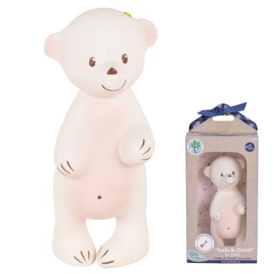 【TIKIRI 斯里蘭卡】固齒器玩具(啾啾小熊)