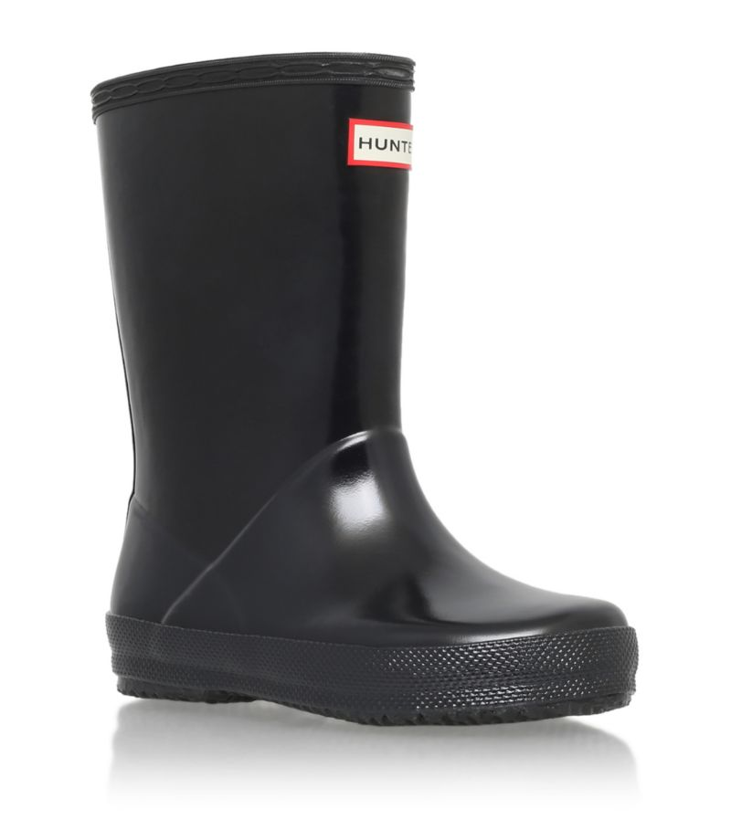Hunter Kids First Gloss Welly Boots