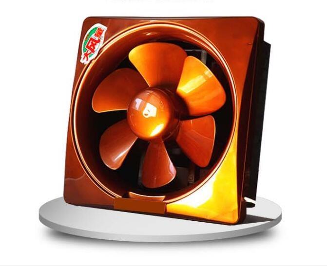 10寸單雙向換氣扇窗式排風扇家用油煙抽風機廚房衛生間排氣扇