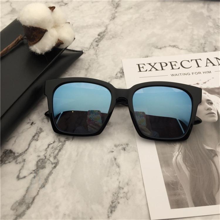 太陽眼鏡TR90超輕男士墨鏡偏光太陽鏡女潮司機開車大框方形