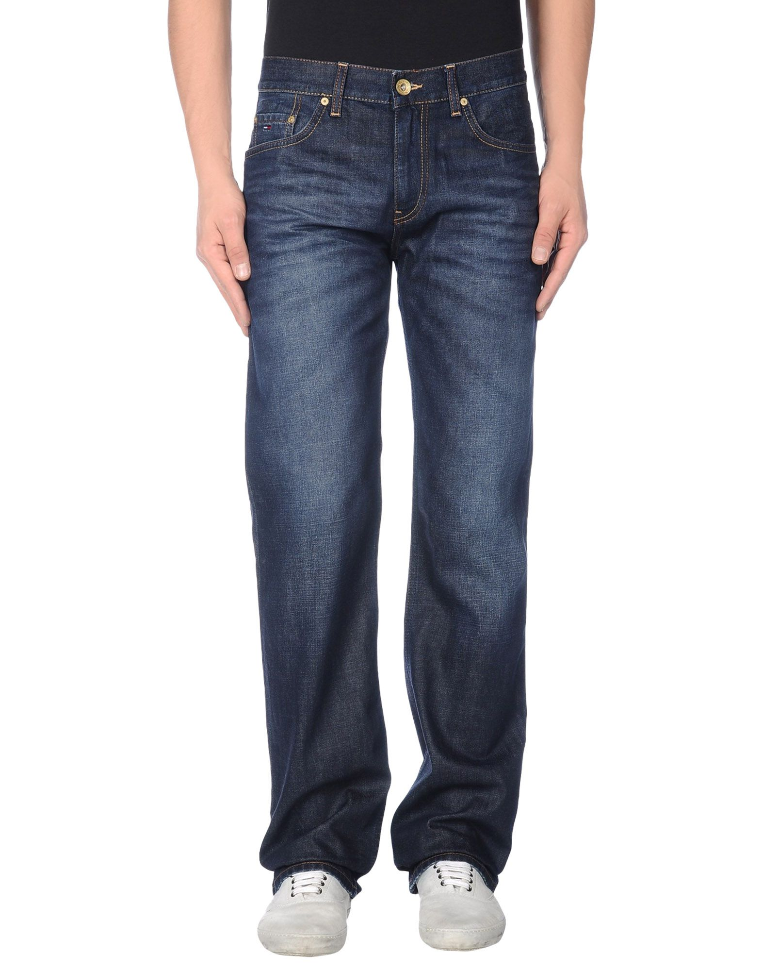 TOMMY JEANS Denim pants - Item 42341792